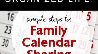 organize your calendar