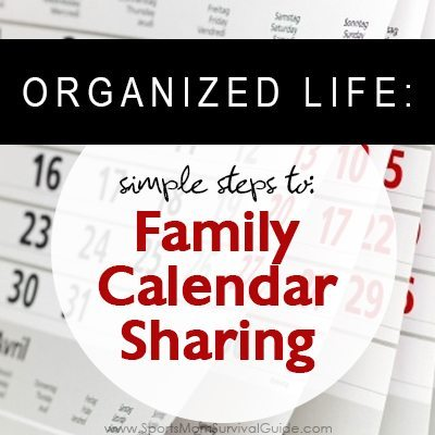 Trying to keep your family's crazy schedule organized. Try one of these 3 great free options for Calendar Sharing. Access from a computer or mobile device.