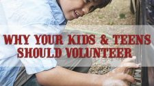 Why your Kids & Teens {& Athletes} Should Volunteer
