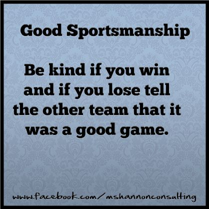 Teaching Kids About SPORTSMANSHIP Unique Sportsmanship Quotes