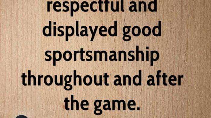 Teaching Kids About SPORTSMANSHIP Stunning Sportsmanship Quotes