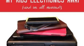 why i took my kids Electronics Away