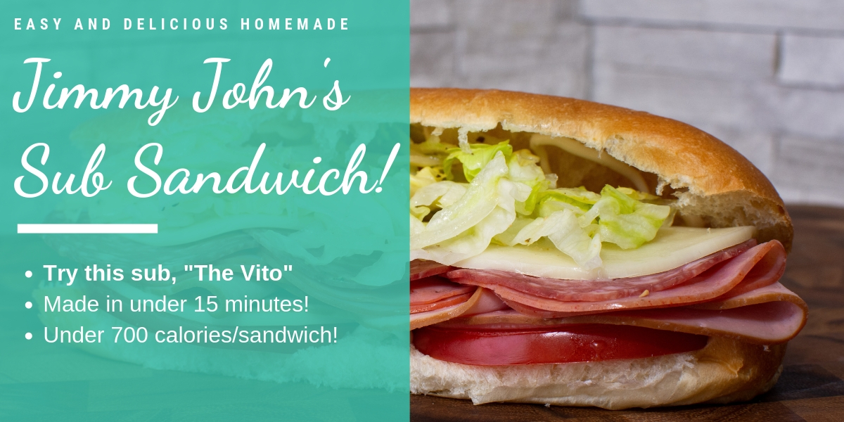 Jimmy John's Homemade Sub Sandwich