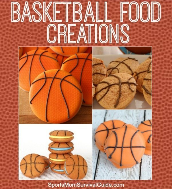 Basketball Food Creations