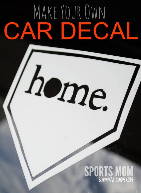 DIY Fun Make Your Own Car Decals - Make your own decals