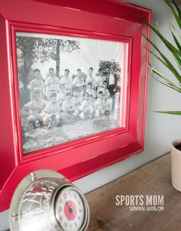 Vintage Sport Theme Kid's Room