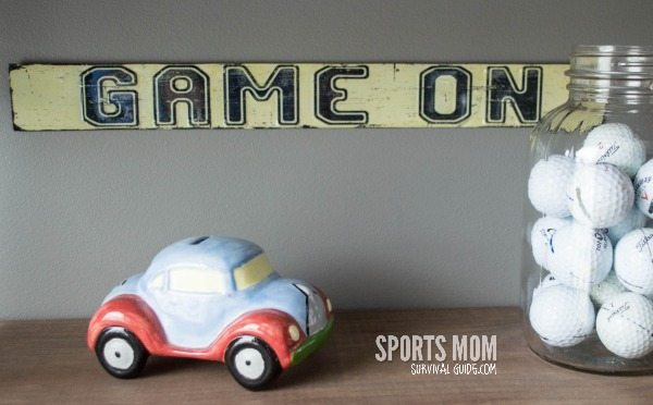 Sport Theme Kid's Room