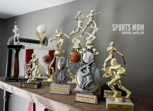 Vintage Sport Theme Kid's Room