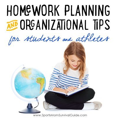 Homework Planning & Organizational Tips for Students & Athletes