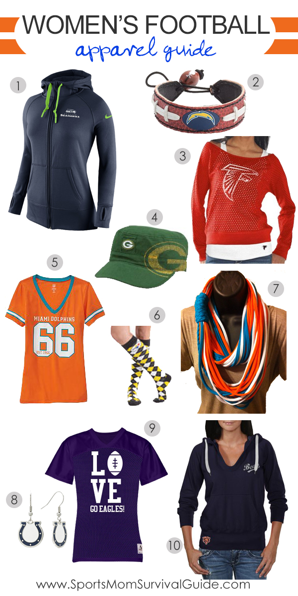 Women's Football Apparel Guide
