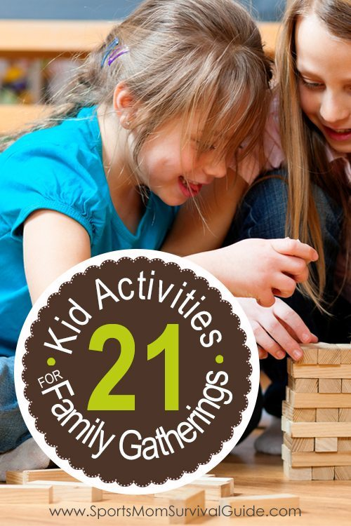 Find 21 Kid Activities for Holiday Gatherings. Keep the kids happy at your next family or friend holiday get-together.