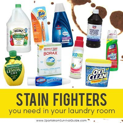 Laundry Stain Fighter Products