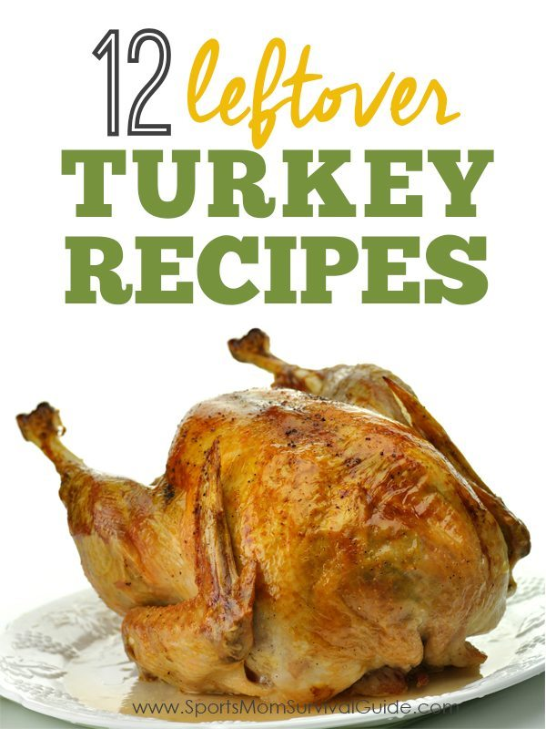 The Thanksgiving meal is over and now the question is what to do with all that leftover turkey! Try one of these delicious 12 Leftover Turkey Recipes!