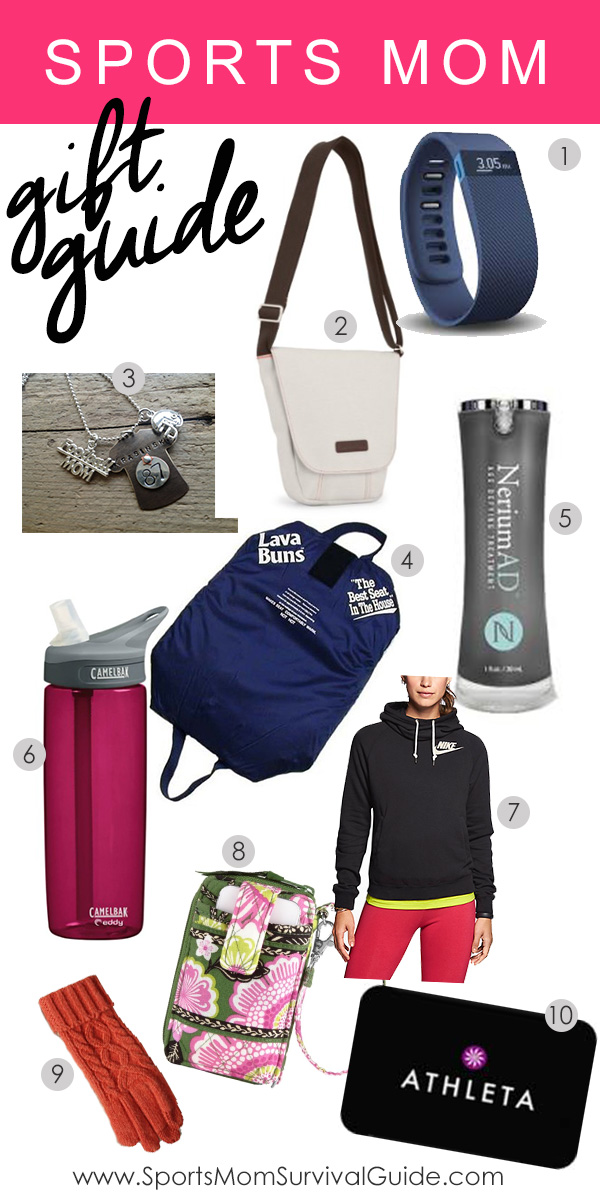 Holiday Gift Guide For The Sports Mom