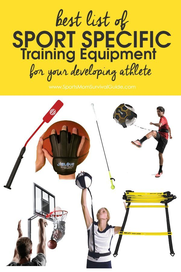 Is your athlete trying to develop and improve their sport skill set? Check out this list of Sport Specific Training Equipment!
