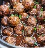Crockpot-Sesame-Meatballs