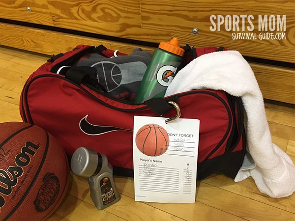Ever leave home for a game or practice and forget something? The Basketball Survival Bag Essentials list helps you be prepped for every basketball game!