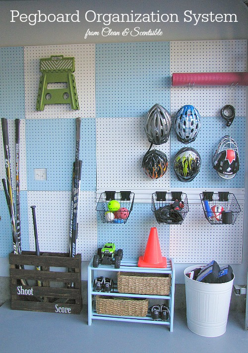 Install Some Pegboards DIY