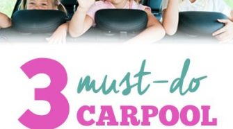 Have kids? Drive carpool? Think it's crazy? Check out these must-do Carpool Organization Tips!