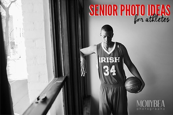 Tired of boring, studio photo shots for senior pictures? Take a peek at these best senior picture ideas for athletes.