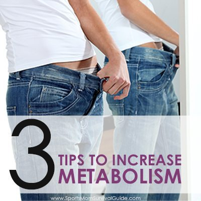 The older we get the more we battle slowing metabolism, but it's not to late! Try these 3 Tips to Increase your Metabolism and start losing that weight.