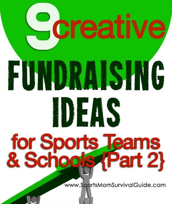 Tired of the same old boring fundraisers? Check out this list of 9 creative, new and different fundraising ideas. Great for sports teams, schools or any group that needs to do a fundraiser!