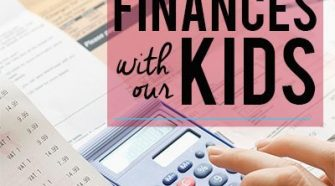 Why we Share Our Finances with Our kids