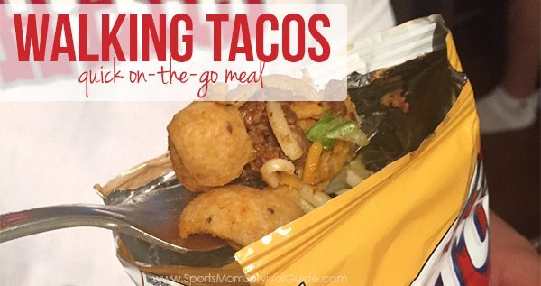 Walking Tacos   Quick on-the-go Meal