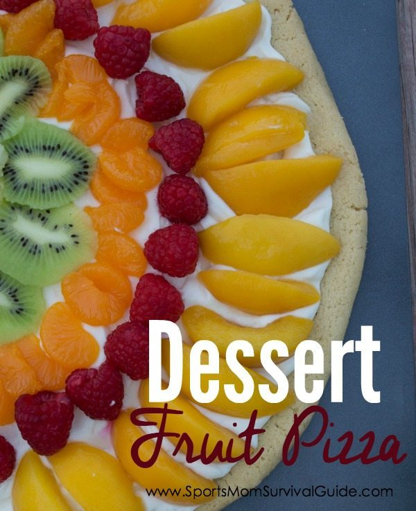 This dessert fruit pizza is a delicious treat that everyone loves! Easy to make with your favorite fruit... it's bound to be a success!