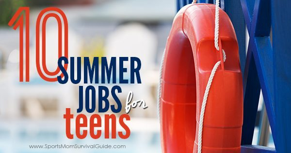 best summer jobs for teens