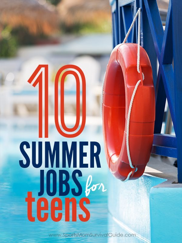 10 best summer jobs for teens