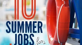 Is your teen looking for a way to make money this summer? Check out this awesome list of 10 Best Summer Jobs for Teens for lots and lots of great options!