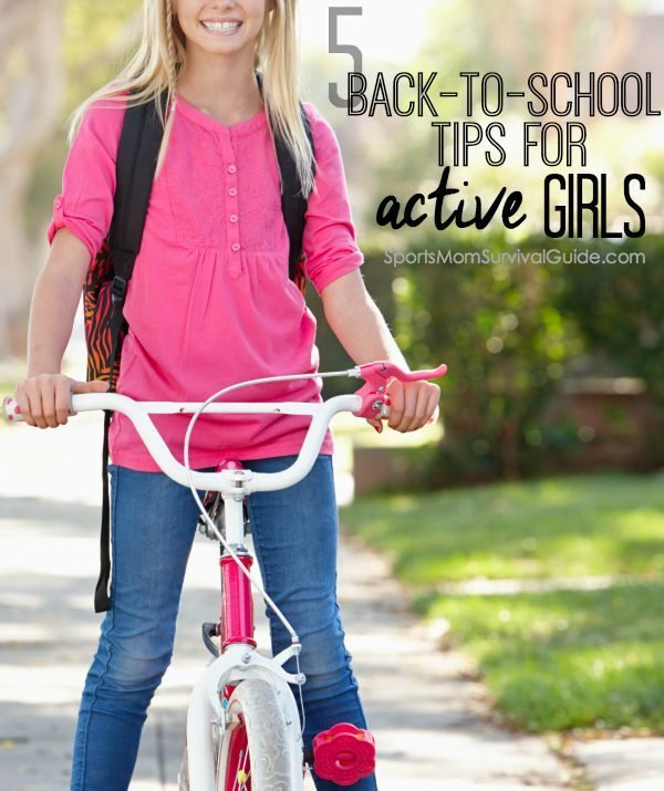The start of the school year is filled with anticipation, excitement, great promise,and sometimes anxiety. Find 5 back-to-school tips for active girls to help get them started on the right foot.