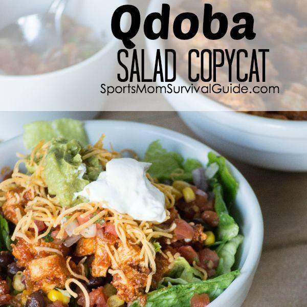 Qdoba Taco Salad Recipe