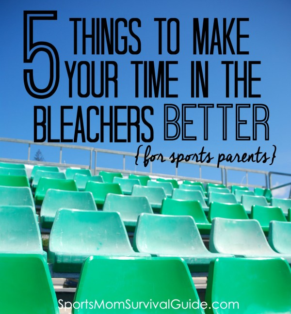 If you're a sports parent, then you probably spend an insane amount of time sitting in the bleachers watching your kiddo. Don't get me wrong, we LOVE watching but the sitting part can start to get a little old...amIright?!?! As in all things, it's best to be prepared. So here are our top 5 things to make your time in the bleachers better!!