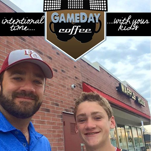 GameDay Cofee strengthens relationships between fathers and their children. Easy, simple intentional time with your kids.