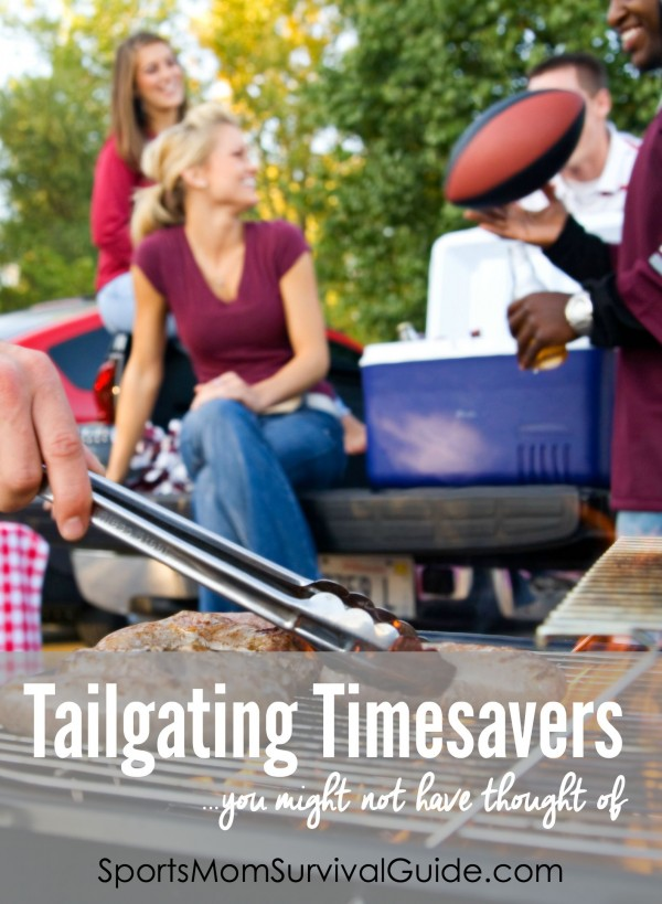 Do you love to tailgate?  WE have 3 genius tailgating timesavers...that you might not have thought of!!