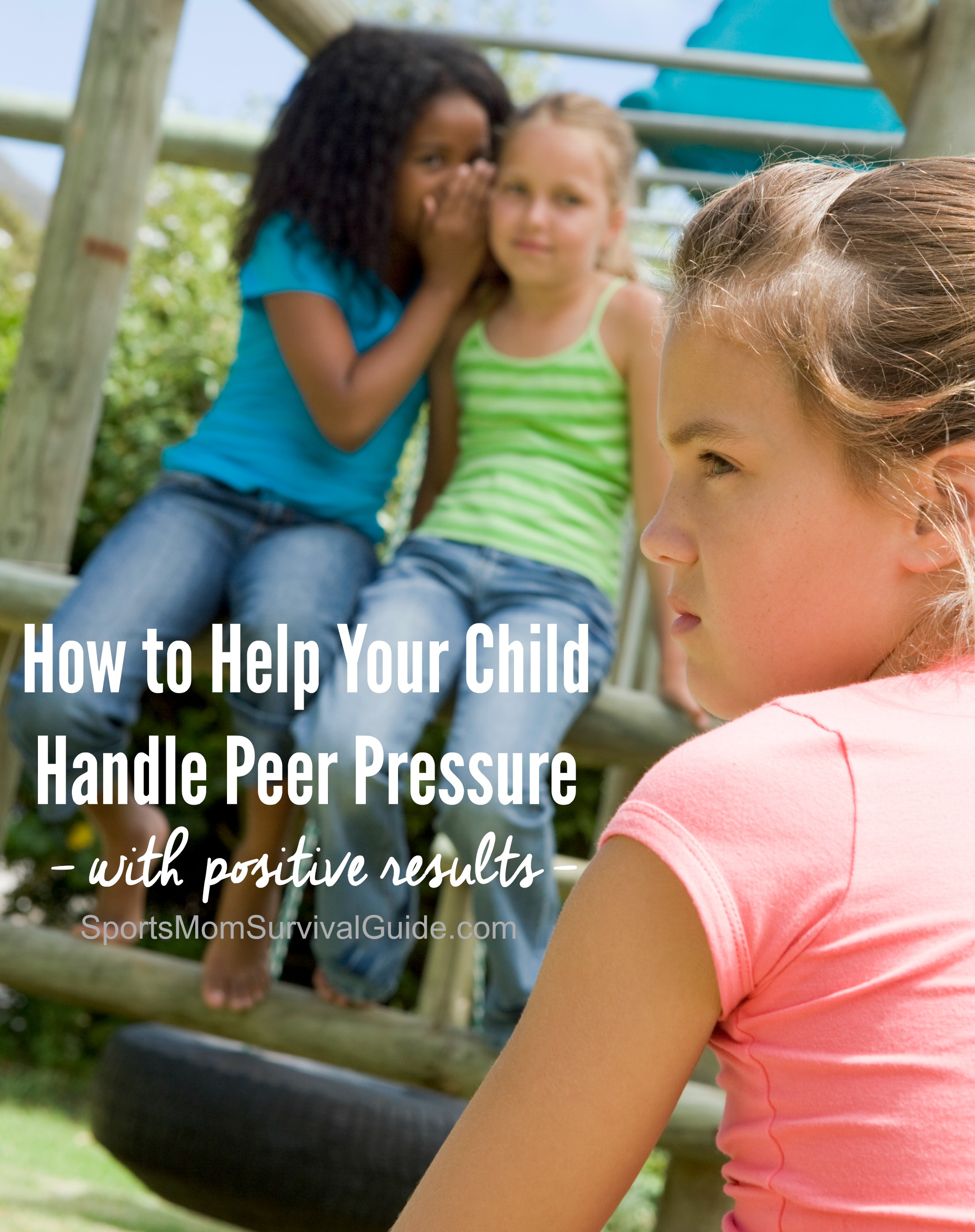 We all experience peer pressure BUT it's the negative influence that we parents worry about most... leading our child to make bad judgment calls or to participate in risky activities. Get some tips to help your child handle peer pressure with positive results.