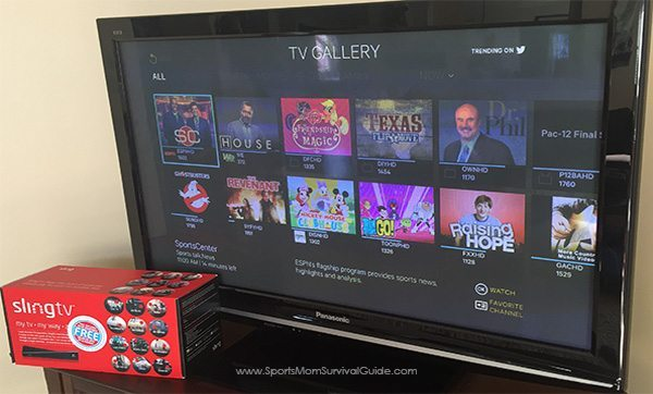 Thanks to our awesome Slingbox® 500 now we can watch live TV from anywhere, simply using are cable we are already subscribed to. No monthly fees!