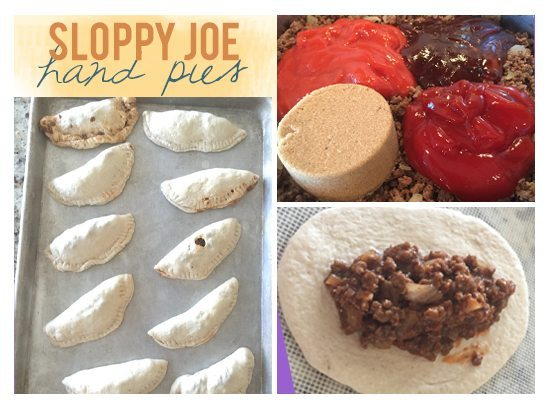 A perfect, non-messy, on-the-go meal. Sloppy Joe Hand Pies are easy to make eat OR make ahead and freeze. Either way, your family will love them!