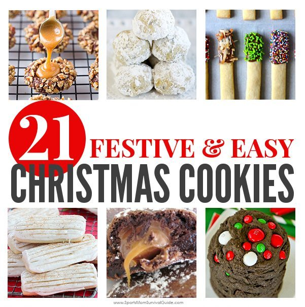 You find the perfect Christmas Cookie recipe to add to your list of family favorites with one of these 21 Festive & Easy Christmas Cookie Recipes.