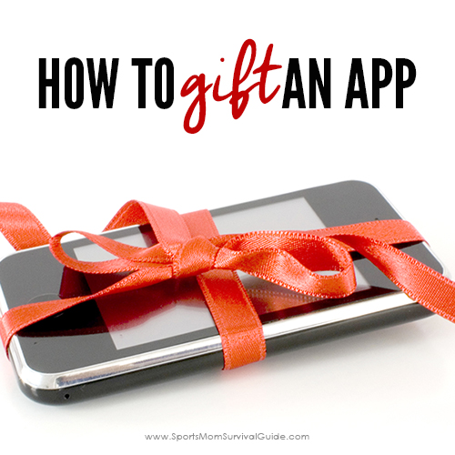 If you need a last minute gift idea and don't have time to run to the store, you can gift an app! It's an easy and simple solution to gift giving!