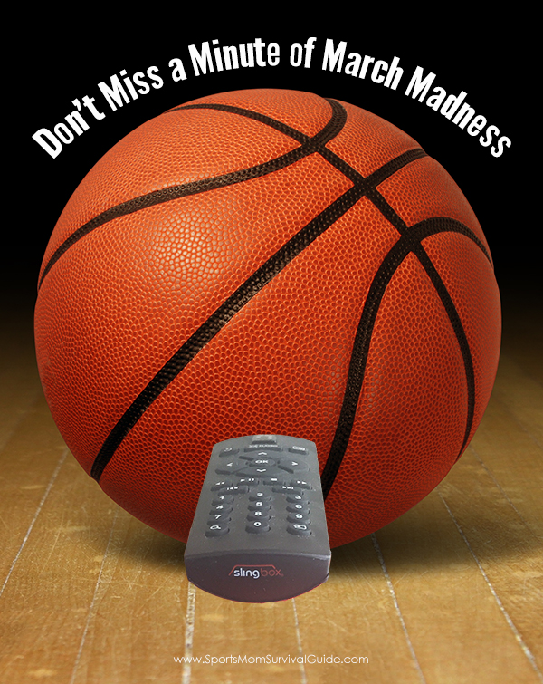 "No TV to watch that ""must see"" game? Don't Miss a Minute of March Madness! With Slingbox watch live and recorded shows, movies and sports anytime, anywhere."