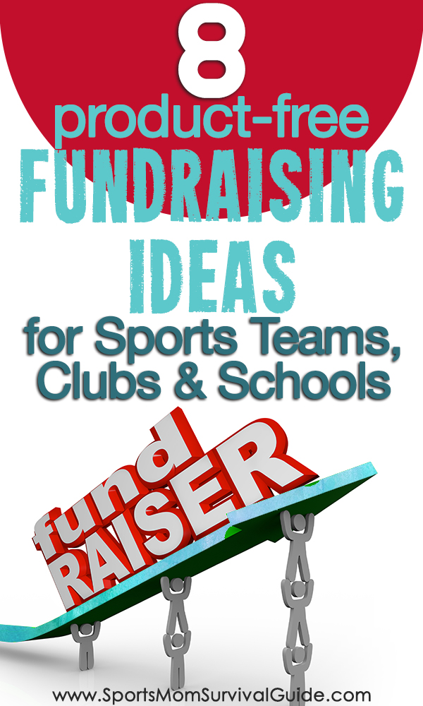 Tired selling stuff for fundraisers? Try a Product-Free Fundraising idea with your sports team, club or school.