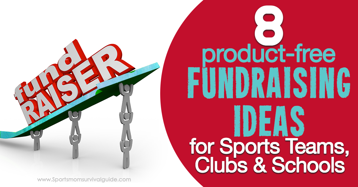 8 Product Free Fundraising Ideas
