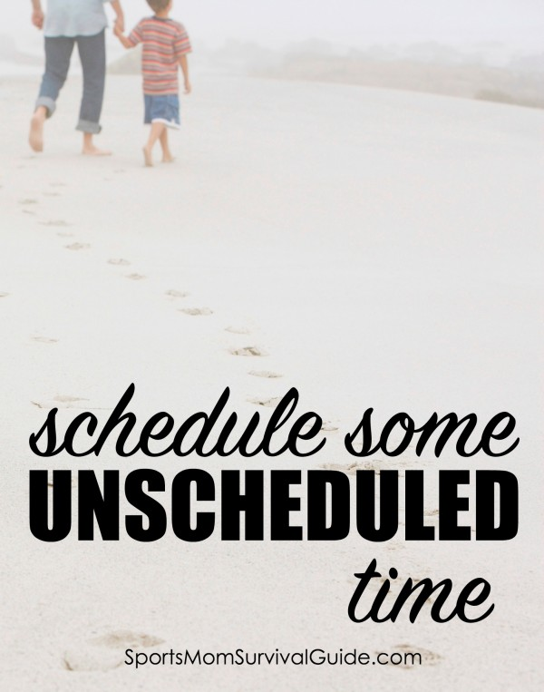 Kids are busier than ever. Between a full schedule during the school day and all the extracurricular activities after school, when do they have time to relax? See why it's important to schedule some UNSCHEDULED time!