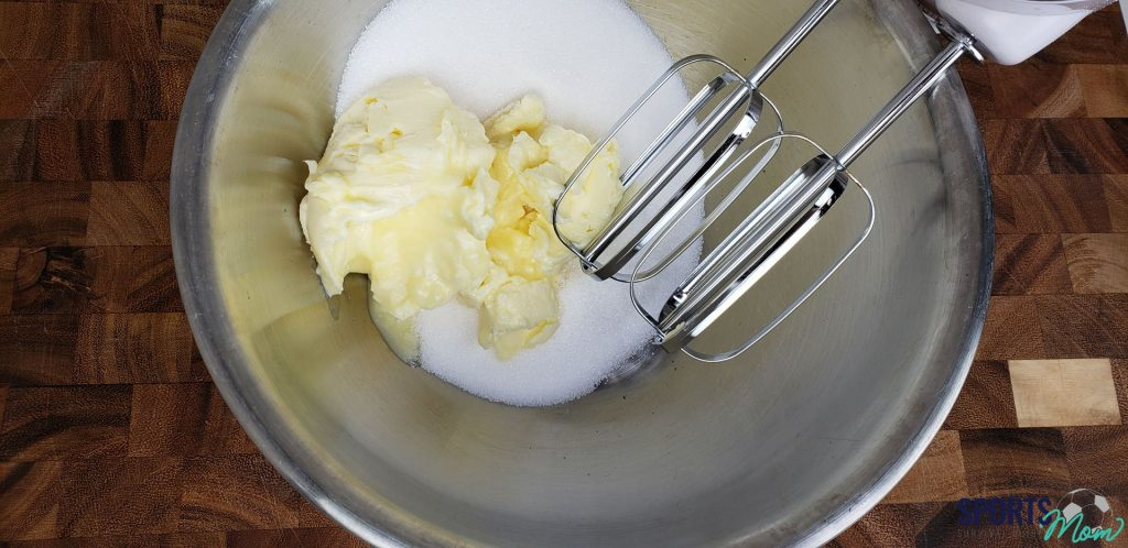 Step Two: Cream Butter and Sugar