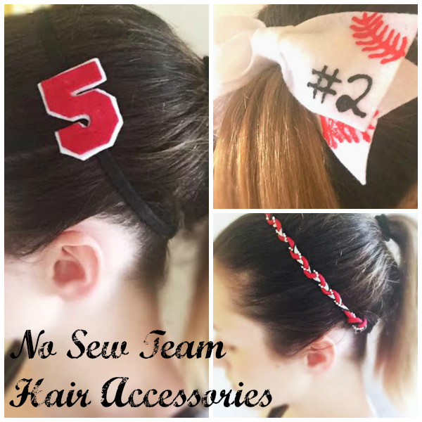 3 No Sew Hair Accessories for the Team