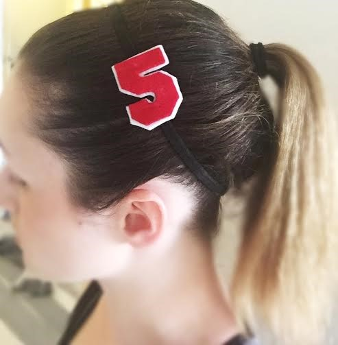 Simple Numbered Headband