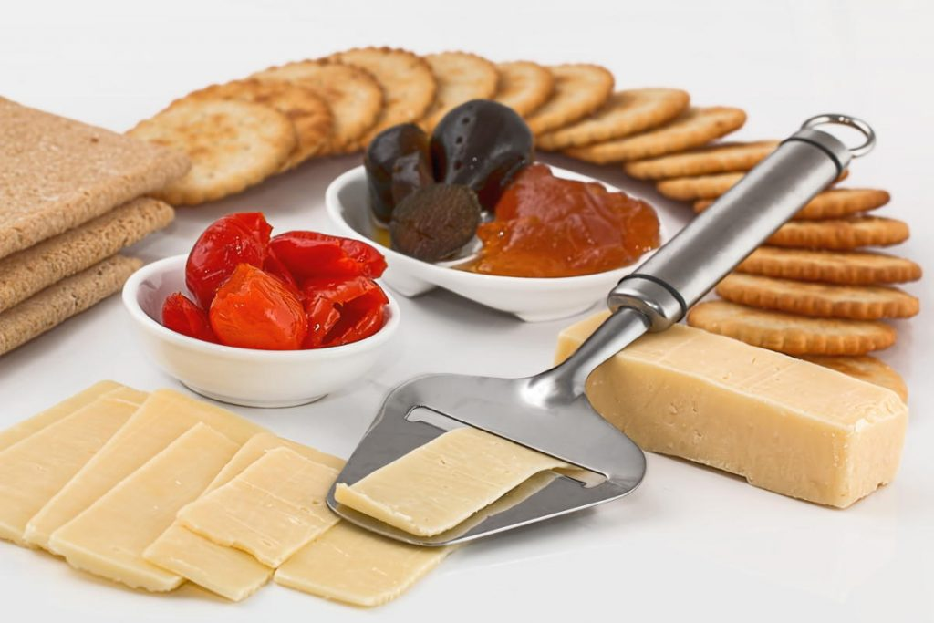 A Selection of Delicious Cheeses